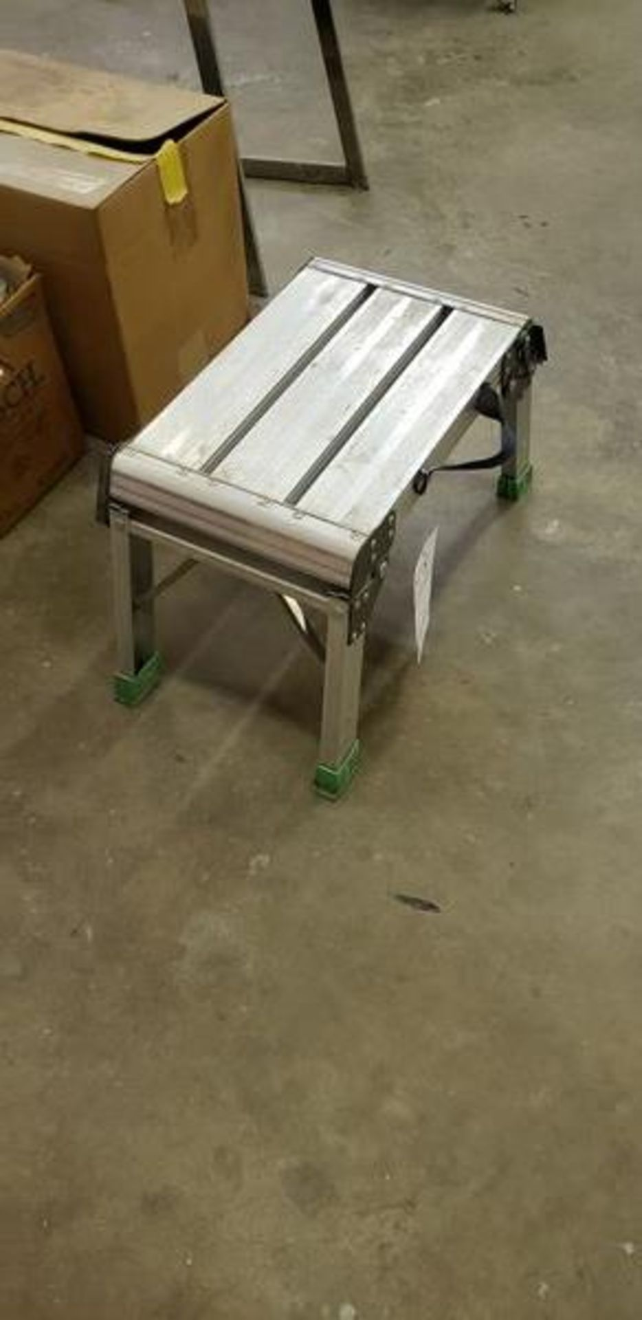 FOLD DOWN STEP STOOL - Image 2 of 2