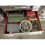 LOT OF DRILL BITS, DRILL KEYS AND MISC