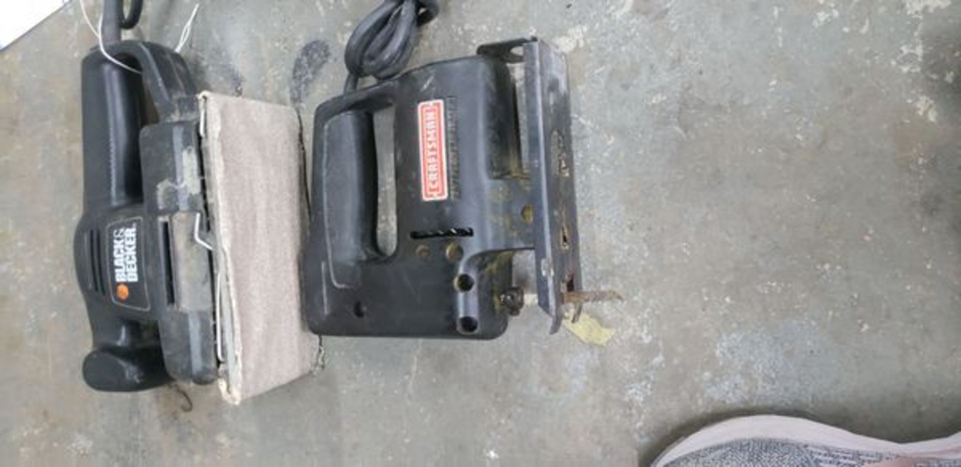 ELECTRIC SANDER AND JIG SAW - Image 2 of 2