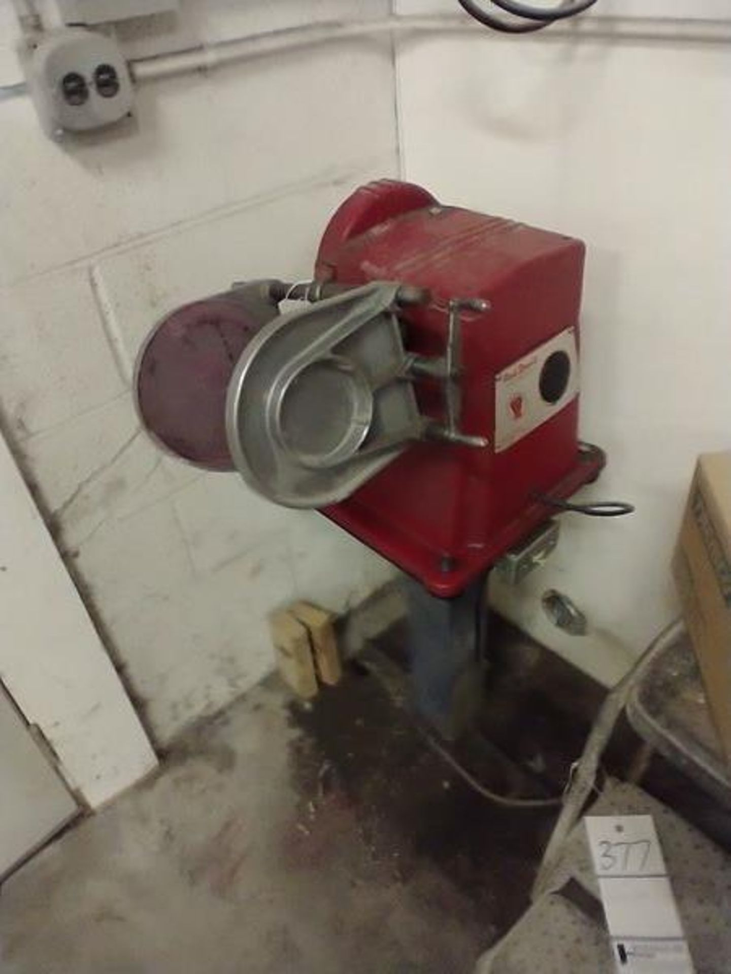 RED DEVIL PAINT SHAKER ON STAND - CAT NO. 30, 1/4 HP, SER. 7-300-60 - Image 3 of 3