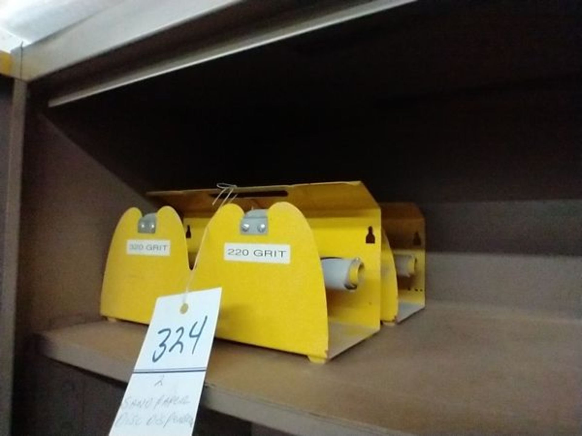 SAND PAPER DISC DISPENSERS