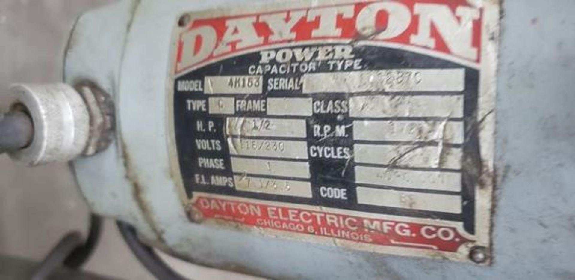 DAYTON 4K153 DRILL PRESS - Image 5 of 6