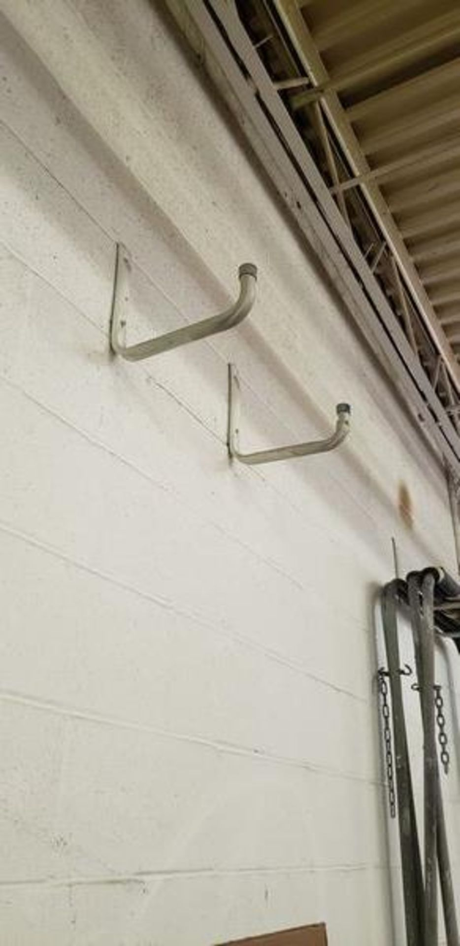 SETS OF WALL HOOKS (BRING TOOLS TO REMOVE)