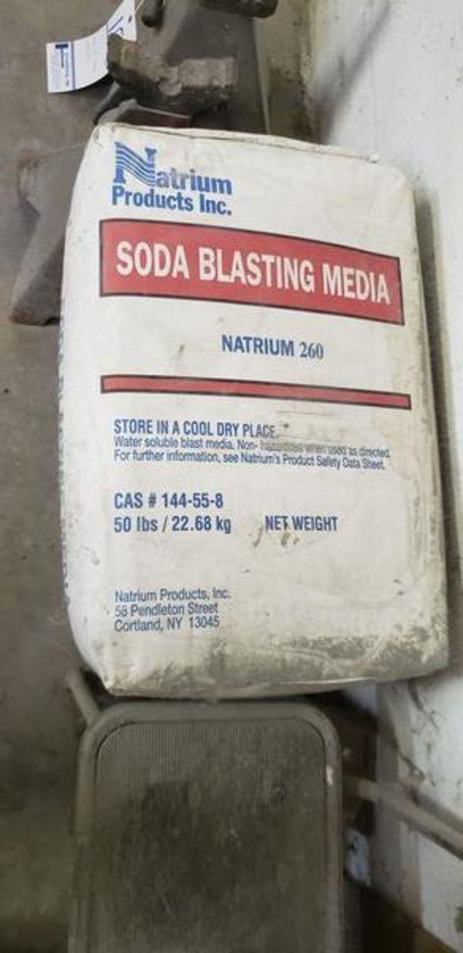 50LB BAG OF SODA BLASTING MEDIA NATRIUM 260
