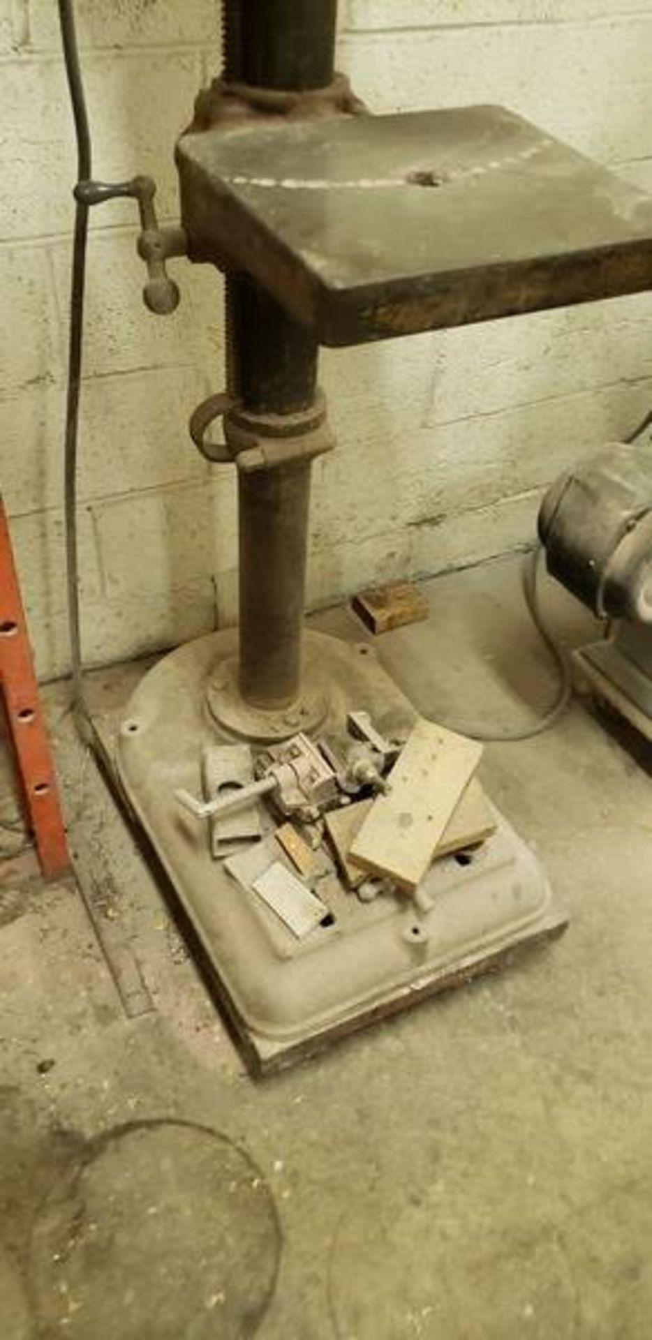 ROCKWELL DELTA 65-1931 MULTI SPEED DRILL PRESS - Image 5 of 5