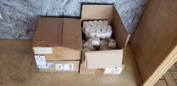 BOXES OF REGISTER ROLLS