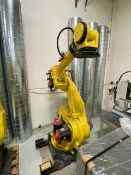 FANUC R-2000iB/165F WITH R-30iA CONTROLS, TEACH PENDANT & CABLES, ONLY 624 HOURS