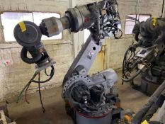 MOTOMAN ROBOT MODEL ES200N WITH NX100, TEACH PENDANT AND CABLES
