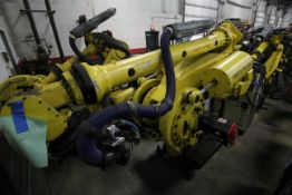FANUC ROBOT M-900iA/400L WITH R-30iA CONTROLLER, TEACH PENDANT AND CABLES, YEAR 2014