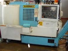 SUPERMAX YCM TC-15 CNC TURNING CENTER Model TC-15, S/N 025028, New 2000