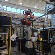 2013 KUKA KR60 JET GANTRY ROBOT SYSTEM WITH KRC4 CONTROLLER