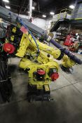 FANUC ROBOT R-2000iB/210F WITH R-30iA CONTROL, CABLES & TEACH PENDANT, YEAR 2013