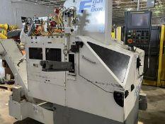 FUJI FS4-31 CNC GANG TOOL CNC LATHE WITH ROBOT LOADER