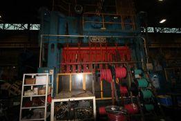 "VERSON TRANSMAT SSDC PRESS TS2-500-156-42T, 500 TON CAPACITY, 156"" X 42"" BED & RAM"
