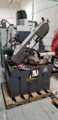 SWEET HYD-MECH DOUBLE COMPOUND MITERING BANDSAW. YEAR 2017