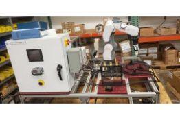 NACHI MZ04E 6 AXIS CNC COLLABRATIVE ROBOT 4 KG X 541 MM REACH NEVER USED BUILT 2018