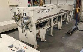 ALMCO MODEL V14-156TF COMBINATION VIBRATORY TUNNEL FINISH & INLINE CONVEYOR WASHER