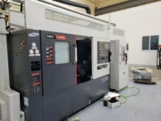 THIS LOT IS FOR 2 NEW NEVER USED 2021 SAMSUNG SL 20000BM/GL CNC LATHES W/ MILLING AND GANTRY LOADED