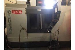 TOYODA MODEL BM-1020 VERTICAL MACHINING CENTER WITH PALLET CHANGER