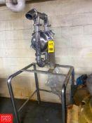 Stainless Steel Diaphram Pump Rigging Fee: $100