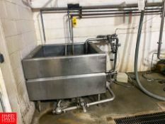 2 Compartment COP Tank With Valves Rigging Fee: $100