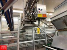 Overhead Gallon Jug Conveyor With Controls Rigging Fee: $1550