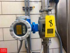 "Endress Hauser 2"" Flow Meter, Clamp Type Rigging Fee: $25"