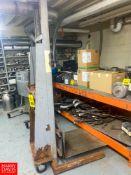 Portable Shop Lift Rigging Fee: $100
