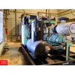 2014 Sullair 124 Hp. 1780 RPM Screw Air Compressor, Model V-200S 200AC Rigging Fee: $750