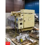 Eagle Dual Station Vertical Form Fill Packet Filler, Model 3000 With (2) Electro Cam 5000 Series