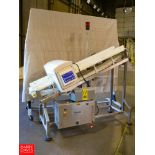 Safeline Mettler Toledo Metal Detector, Model SL2000, With Powered Conveyor Rigging Fee: $200