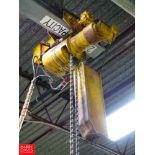 Budgit 2-Ton Electric Hoist Rigging Fee: $100