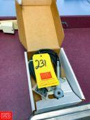 New Anderson Conductivity Sensor Model: 3706E27-1008 Rigging Fee:$25