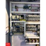 Allen Bradley Breakers, Transformers, Logix 5561 PLC, and Air Valve Solenoid, with Enclosures
