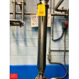 """2"""" S/S Online Filter, Clamp Type Rigging Fee:$75"""