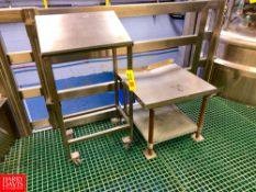 (2) S/S Stands Rigging Fee:$50