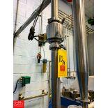 "2"" Mag Flow Meter, Clamp Type Rigging Fee:$75"