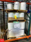 "Rolls 14"" Wide Plastic Sheeting Rigging Fee:$150"