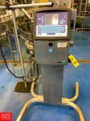 Videojet Inkjet Printer Model: 1510, S/N: 0931805C11ZH Rigging Fee:$200