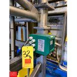 "2"" Mag Flow Meter Model: ML 210, Clamp Type Rigging Fee:$75"