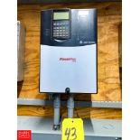 Allen Bradley 15 HP Powerflex 70 Variable Frequency Drive Rigging Fee:$50