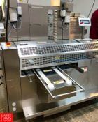 2018 Rheon Set Panners KP302; Tray Size: 660 mm, Up to 60 pcs/min, S/N: 00215