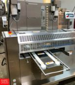 2018 Rheon Set Panners KP302; Tray Size: 660 mm, Up to 60 pcs/min, S/N: 00190