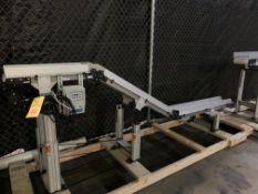 "Dorner 2200 Series 6"" Wide Power Inclined Infeed Conveyor"