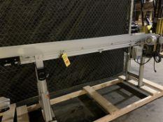 "Dorner 3200 Series 8"" X 96"" Power Belt Conveyor"