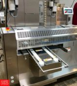 2018 Rheon Set Panners KP302; Tray Size: 660 mm, Up to 60 pcs/min, S/N: 00214