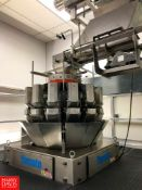 Bulk Bid: 2019 Yamato Scale and VFFS Bagging System with Conveyor including: Yamato Multihead
