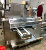 2019 Rheon Set Panners KP302; Tray Size: 660 mm, Up to 60 pcs/min, S/N: 00232