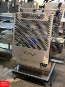2019 Rheon Cornucopia KN551 All S/S Encrusting Machine, 100 pcs/min, Color Touch Screen HMI, S/N: