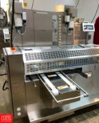 2019 Rheon Set Panners KP302; Tray Size: 660 mm, Up to 60 pcs/min, S/N: 00231